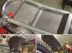Seat and battery tray