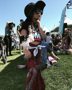 Coachella Babychella ootd kids ootd my little Luna! <3