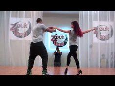 How to do Brazilian Zouk Dance Steps Moves Intermediate - YouTube