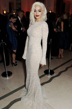 Rita Ora at Bazaar UK's Women of the Year Awards