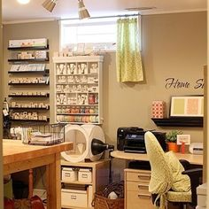office and craft room ideas | Ideas for office/craft room | Home Office/Craft Room | Pinterest