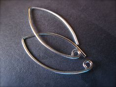 Sophisticated Simple Solid Sterling Silver ear by lilysoffering
