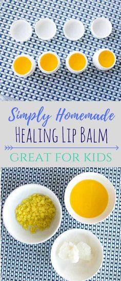 I found the best mix of ingredients to make my amazing Homemade Healing Lip Balm. This recipe will keep your lips moisturized all winter and summer long. Homemade Books, Diy Beauty, Beauty Tips, Beauty Hacks, Homemade Guacamole, Semi Homemade, Diy Craft Projects, Diy Crafts, Homemade Beauty Products