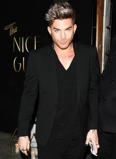 Adam leaving restaurant 'The Nice Guy' Hollywood 16/07/2016