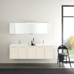 "Acquaviva  Light 69"" Double Bathroom Vanity Set"