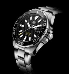 TAG Heuer - Aquaracer 300M Calibre 5 Ceramic 43 mm | Time and Watches