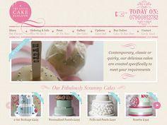 Showcase of 8 Beautiful Cupcake Website Designs
