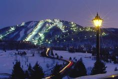 Skiing in Quebec