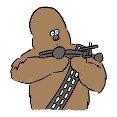 Chewbacca #chewbacca #starwars #theforceawakens #seijimatsumoto #松本誠次 #art #drawing #illustration #illustrator #movie #イラスト #スターウォーズ #チューバッカ #フォースの覚醒 #映画