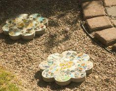 Easy DIY Concrete Garden Stones