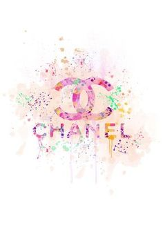 Coco Chanel fashion Modern Watercolor Print-Wall Decor-Home Decor-Watercolor Digital Art-Wall Art-Wall Hanging Poster Poster Coco Chanel Wallpaper, Chanel Wallpapers, Cute Wallpapers, Wallpaper Backgrounds, Iphone Wallpaper, Chanel Decor, Chanel Art, Chanel Logo, Hanging Posters