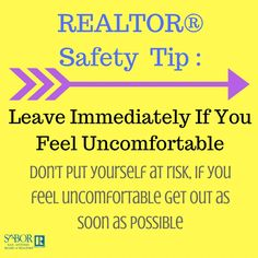 Keep this tip in mind while you're out showing homes to clients.