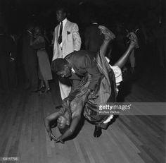 Swing dancing at the Savoy Ballroom in Harlem New York 1947