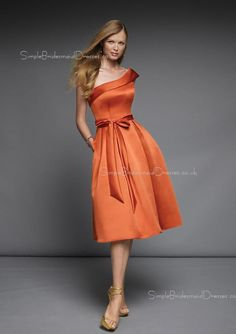 burnt orange short bridesmaid dresses - Google Search