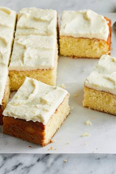 Lemon Sheet Cake With Buttercream Frosting Recipe - NYT Cooking
