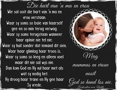 Die hart van n ma en vrou Goeie More, Father's Day, Special Words, Afrikaans, Ens, Movie Posters, Inspirational, Film Poster, Fathers Day