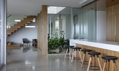 Read through our questions we asked My Floors about what you need to know when considering the modern design look of polished concrete floors in our homes.