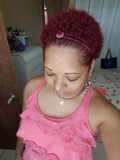 Mi nuevo color rojo intenso