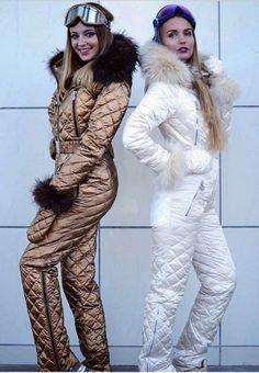 Ski Jumpsuit, Down Suit, Winter Suit, Ski Wear, Feminine Style, Winter Fashion, Ski Fashion, Skiing, Winter Outfits