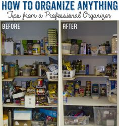 These tips from a professional organizer will help you organize anything, from your pantry to your kids rooms. #PutALabelOnIt [ad] @Staples
