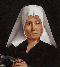 Oleo del Renacimiento, retrato belga por Metsys.