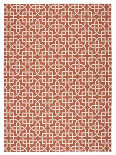 Nourison Home and Garden (RS090) Rust Rectangle Area Rug, 7-Feet 9-Inches by 10-Feet 10-Inches (7'9' x 10'10') *** More forbidden discounts at the link of image : Area Rugs, Runners Pads