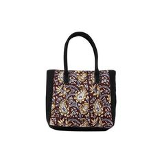 NOVICA Hand Printed Paisleys over Maroon and Black Cotton Tote Bag (€47) ❤ liked on Polyvore featuring bags, handbags, tote bags, accessories, brown, clothing & accessories, tote handbags, handbags & purses, zippered tote bag and black purse