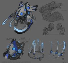 Base Ultralisk by jjeverson and myself. Queen of Ghosts Kerrigan FX Creature Concept Art, Creature Design, Starcraft 2, Heroes Of The Storm, One Word Art, Stars Craft, Fantasy Races, Anthro Furry, Fantasy Character Design