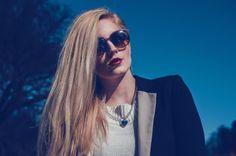 AJDA'S: Summer Retro 2 Tone Colorful P3 Round Sunglasses 9103