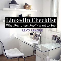 LinkedIn Tips-- What recruiters actually want to see on your profile!