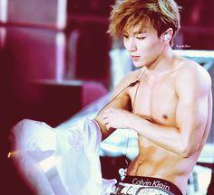Leeteuk take it off! XD