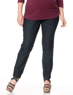Plus Size Secret Fit Belly� 5 Pocket Skinny Leg Maternity Jeans