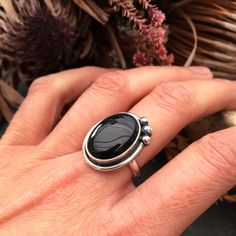 There's still time to get some special pieces at off in the Etsy shop! This super gemmy black banded agate ring is included 💜 UK L/ US Agate Ring, Rocks And Minerals, Ring Designs, Gemstone Rings, Etsy Shop, Band, Studio, Trending Outfits, Unique Jewelry