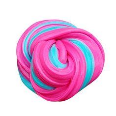 Slime jouet gratuit–Honestyi–Enfants Fluffy Floam Slime Mastic Durtend 60ml parfumé soulager le stress enfants Argile jouet C: gratuit…