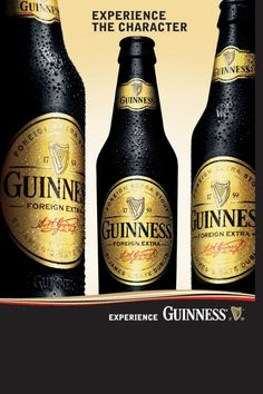 guinness bottles with green ribbon Guiness Beer, Guinness World, Guinness Ireland, I Like Beer, Beers Of The World, Natural Preservatives, Message In A Bottle, Beer Bar, Wine Pairings