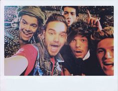 One Direction selfie