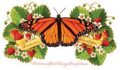 Free shipping November 8 ONLY with this code NOVEMBER8 Archival print Monarch Butterfly and by #PatriciaSheaDesigns