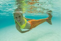 FinFun: Mermaid tails for swimming that take summer fun to new heights. Or, depths.