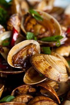 Jane's Soy Sauce Clams!