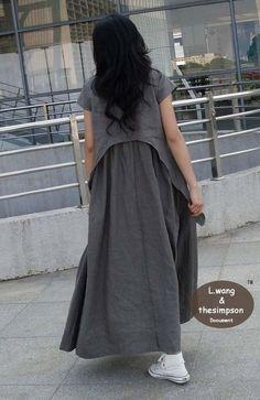 Flax sundress more colour and size choiceA3 от FashionColours