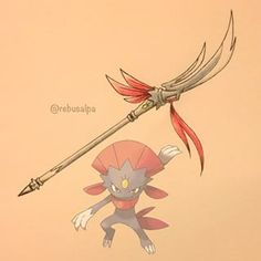 pokemon weapon Weavile