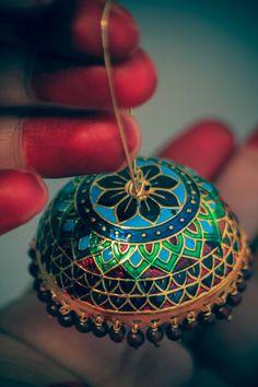 #Fabindia jewelry#traditional#ethnic#jhumka