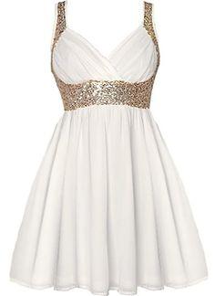 Grecian Glitz Dress