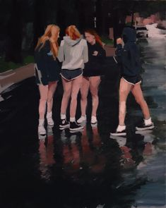 Using photorealistic trickery, Mark Tennant's paintings appear to have been frozen in time Painting Inspiration, Art Inspo, Figurative Kunst, Academic Art, Wow Art, Gcse Art, Just Girl Things, Marker Art, Figure Painting