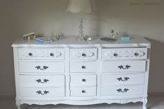 Sears Bonnet Dresser Repainting