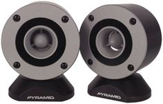 Pyramid TW28 3.75-Inch Aluminum Bullet Horn In Enclosure with Swivel Housing by Sound Around. $21.69. Pyramid Car Audio prides itself as being the most affordable solution to car audio. The founders of Pyramid over two and a half decades ago developed a notion of how to bring affordable audio products to the US market. With this constant vision in mind, it took only a few short years before Pyramid was considered the worldwide leader of affordable audio product...