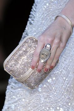 * Giorgio Armani by Le_Styliste Giorgio Armani, By Any Means Necessary, Color Plata, Glitz And Glam, Zebras, Evening Bags, Evening Clutches, Beautiful Bags, Purses And Bags