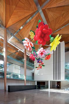 Auckland Art Gallery Toi o Tamaki in New Zealand with patterned ceilings wins World Building of the Year 2013 at World Architecture Festival in Singapore. Auckland Art Gallery, Ceiling Art, Art Addiction, Kiwiana, Installation Art, Art Projects, Asia, Flint Hills, Design