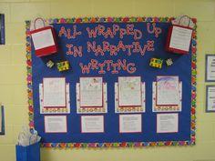 writing bulletin board displays | Writing Displays For Classroom
