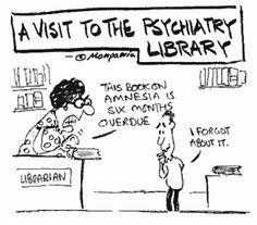 A visit to the psychiatry Library. #funny #nursejokes